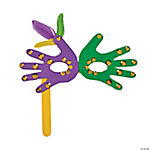 Mardis Gras Handprint Craft Kit