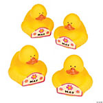 May Rubber Duckies