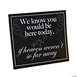 Memorial Wedding Sign