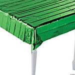 Metallic Green Tablecloth