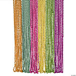 Metallic Neon Beaded Necklaces