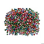 Metallic Pony Bead Assortment - 6mm