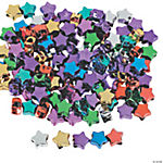 Metallic Star-Shaped Pony Beads