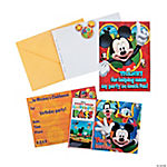 Mickey Playtime Invitations/Thank You Cards