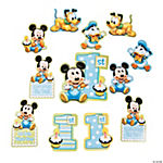 Mickey's 1st Birthday Cutouts Pack