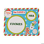 Milk & Cookies for Santa Place Mat Craft Kit