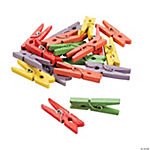 Mini Bright Clothespins