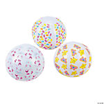 Mini Easter Beach Balls