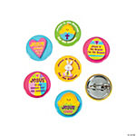 "Mini ""Jesus Is the Reason For the Season"" Easter Buttons"