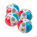Mini Pinwheel Inflatable Beach Balls