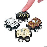 Mini Safari Pullback Race Cars