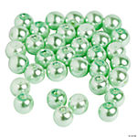 Mint Green Pearl Beads - 8mm