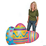 Mixed Print Easter Egg Stand-Up