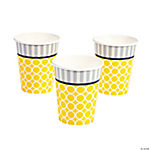 Mod Baby Shower Cups