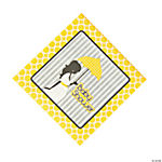 Mod Baby Shower Luncheon Napkins