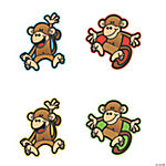 Monkey Bulletin Board Cutouts