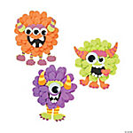 Monster Flower Magnet Craft Kit