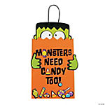 Monsters Need Candy Too Sign Craft Kit