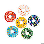 Multi-Colored Millefiori Donut Beads - 20mm