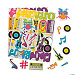 Music Magic Adhesive Shapes