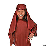 Nativity Child Hat - Maroon