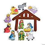 Nativity Felt Cutouts