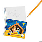 Nativity Spiral Notepads
