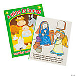 Nativity Story Coloring Books