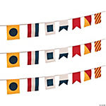 Nautical Flags Pennant Banner