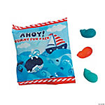 Nautical Gummy Candy Fun Packs