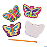 Neon Butterfly Notepads