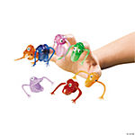 Neon Finger Puppets