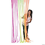Neon Fringe Curtain