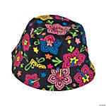 Neon Luau Bucket Hats