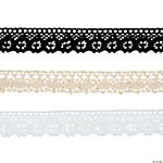 Neutral Lace Ribbon 3 Pack