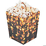 New Year's Celebration Popcorn Boxes