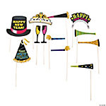 New Years Photo Stick Props
