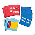 Number Value Dice Card Set