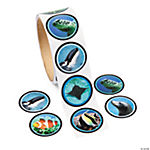 Ocean Life Photo Roll of Stickers