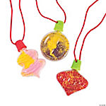 Ornament Sand Art Necklace Bottles