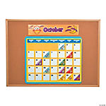 Owl Bulletin Board Calendar Kit