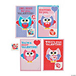 Owl Valentine Cards with Tattoos