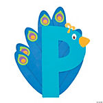 """P Is For Peacocks"" Letter P Craft Kit"