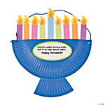 Paper Plate Menorah Craft Kit