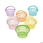 Pastel Round Easter Baskets