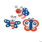 Patriotic Bug Magnet Craft Kit