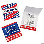 Patriotic Matchbook Mints