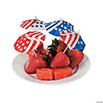 Patriotic Parasol Picks