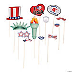 Patriotic Photo Stick Props