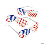 Patriotic Shutter Shading Glasses